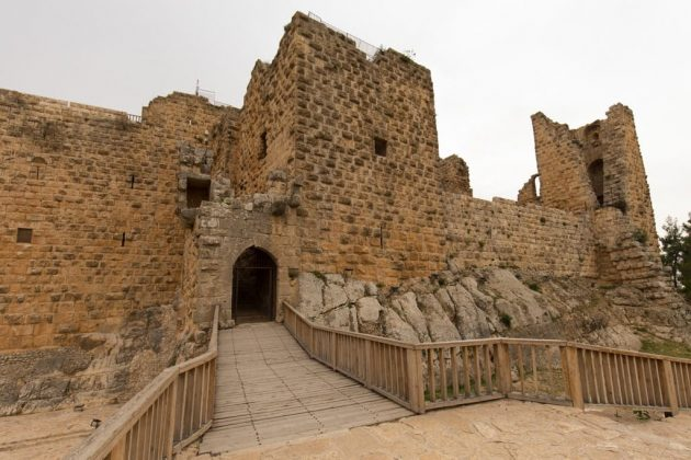 Exterior del castillo de Ajlun