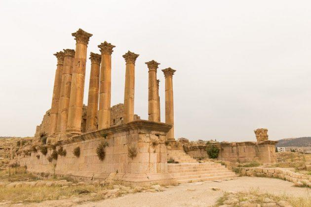 Templo de Artemisa de Jerash