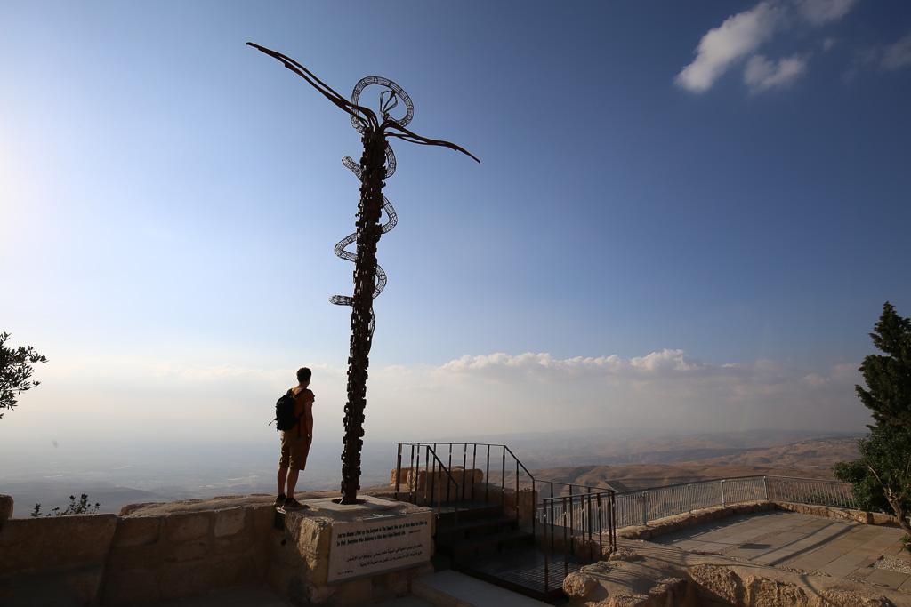 El Monte Nebo de Jordania