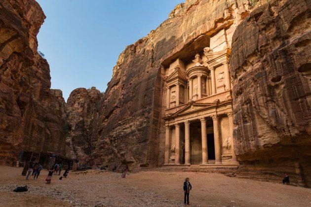 El famoso Tesoro de Petra