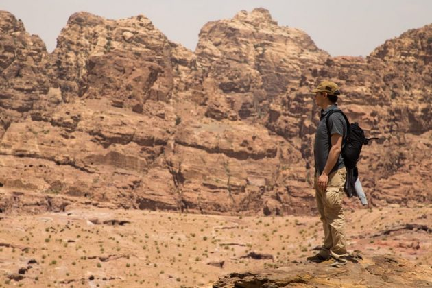 El Siq exterior, el entorno de la ciudad de Petra