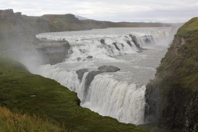 Cascada Gullfoss (Islandia)