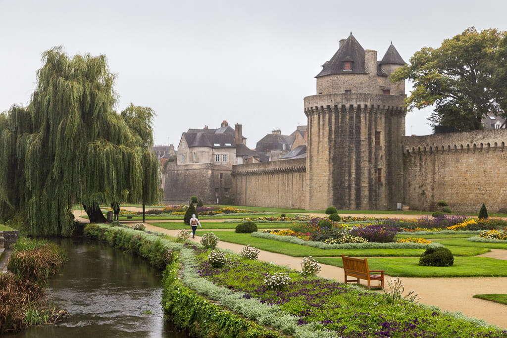 Castillo de Vannes (Bretaña francesa)
