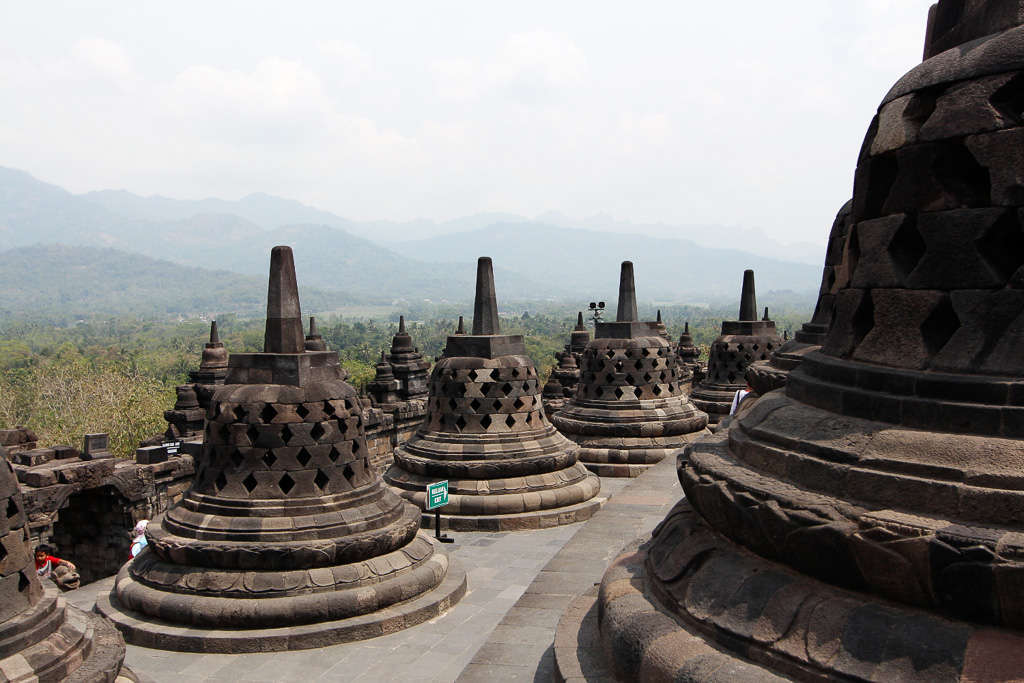 Borobudur (Isla de Java, Indonesia)