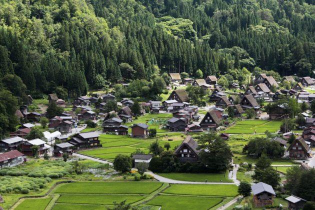 Shirakawa-go (Japón)