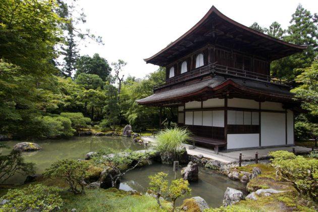 Pabellón de plata o Ginkaku-ji (Kioto, Japón)