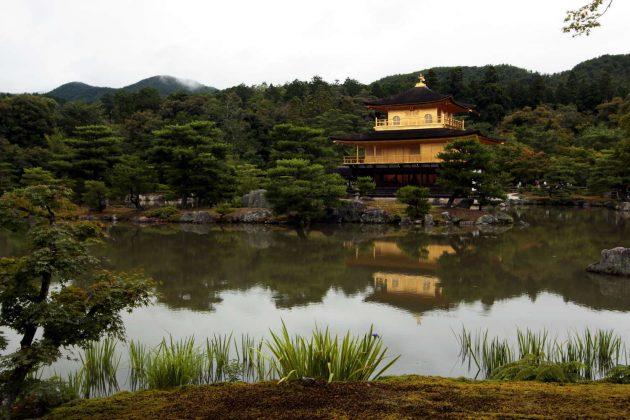 Pabellón dorado o Kinkaku-ji (Kioto, Japón)