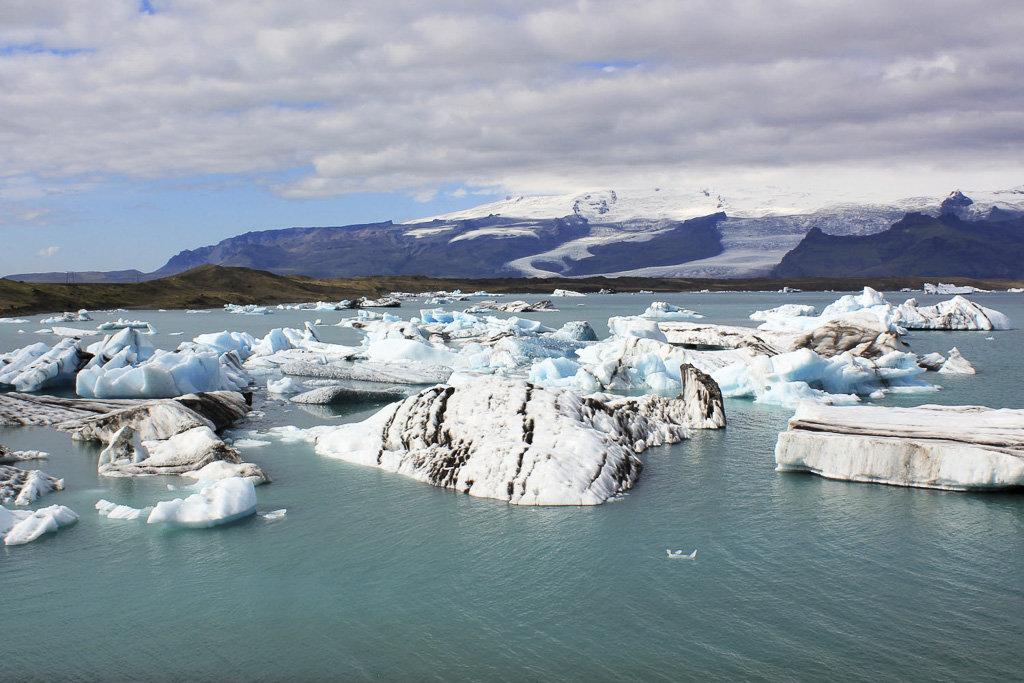 Icebergs en Jökulsárlón (Islandia)