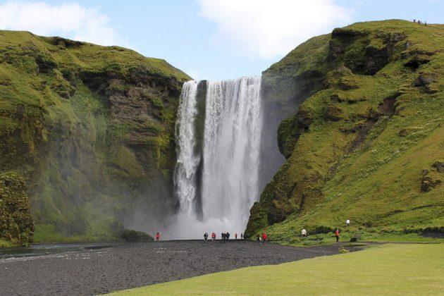 Cascada Skogafoss (Islandia)