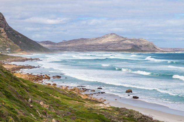 Witsand beach (Península del Cabo, Sudáfrica)