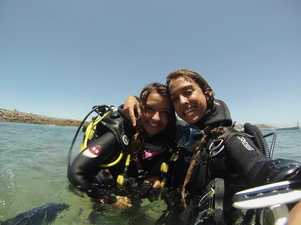 Parte del equipo: Ana y Marina Palacios Miñambres